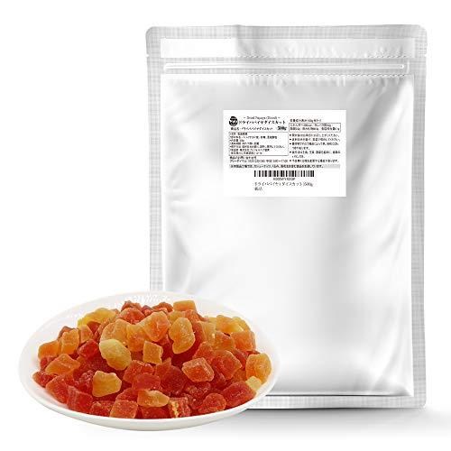 ドライパパイヤ 500g ドライフルーツ パパイヤ 乾燥果実 お菓子 おやつ 便利なアルミチャック付袋 防災食品 非常食 備蓄食 保存食