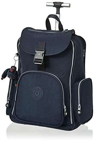 Kipling unisex adult Alcatraz Wheeled Backpack With Laptop Protection Luggage Carry On Luggage, True Blue, One Size US