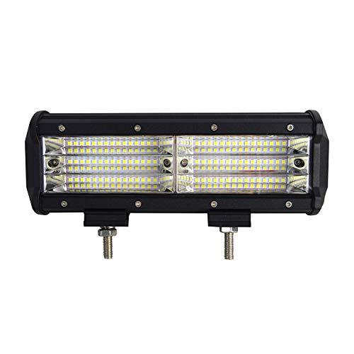 SKYWORLD Barra de luces LED, 9 pulgadas 23 cm 270W 9D Quad R