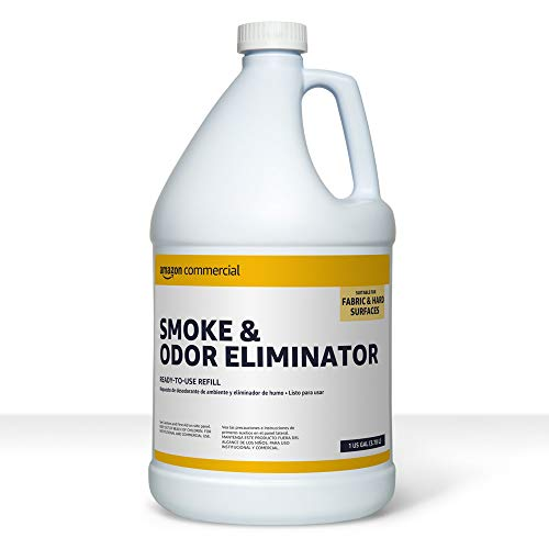 AmazonCommercial Smoke and Odor Eliminator Refill, 1-Gallon, 2-Pack