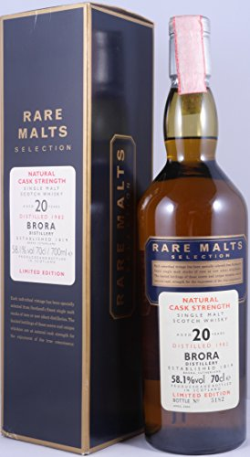 Brora (silent) - Rare Malts - 1982 20 year old Whisky