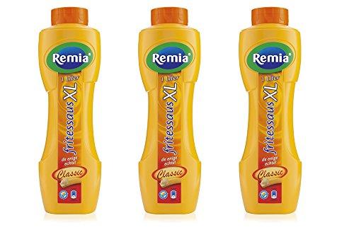 3 x Remia Frittensoße Classic 1Lt.