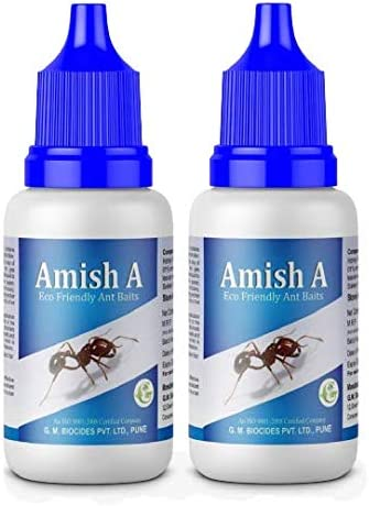 Amish A Eco-Friendly Ant Bait/Ant Repellent for Home/ant Killer Gel/ant Liquid/ant Organic Liquid/ant Gel Bait/Garden...