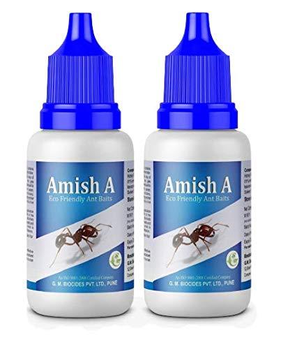 AmishAEco-FriendlyAntBaitAntRepellentforHomeantKillerGelantLiquidantOrganicLiquidantGelBaitGardenKitchenWallEdges-Packof2Bottle