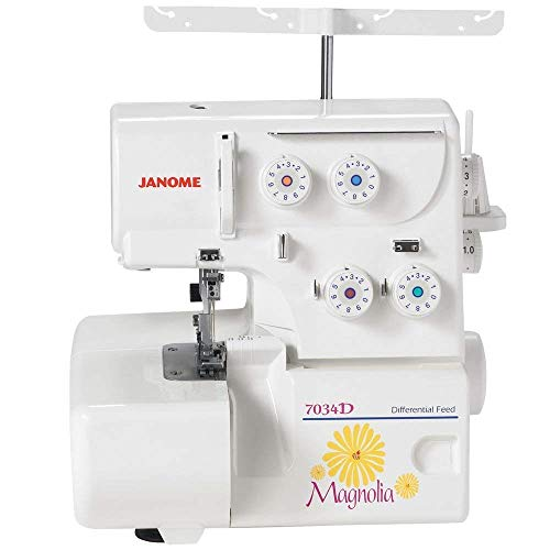 Find Bargain Janome 7034D Magnolia 3&4 Thread Overlock Serger