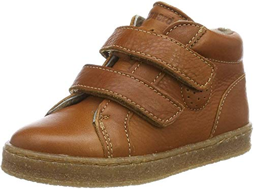 Bisgaard Unisex Baby Sinus Sneaker, Braun (Cognac 500), 23 EU