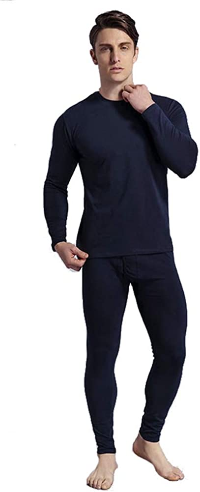 Chickle Men's Ultra Soft Thermal Underwear Long Johns Set
