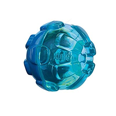 KONG - Rewards Ball - Ultra Durable Interactive Treat Dispensing Dog Toy - For Small Dogs