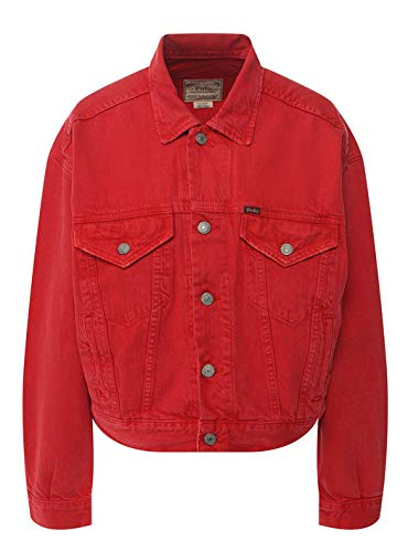Polo Ralph Lauren Chaqueta Denim Red Trucker Jacket Talla M