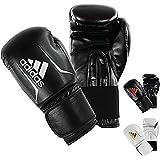 adidas Speed 50 Gym Fitness Training Workout Sparring Kick Boxing Gloves Mens Women Kids 6oz 8oz 10oz 12oz...