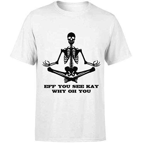 AMIROSSI Funny F U C K Y O U Eff You See Kay Why Oh You Ideas de regalo para hombres mujeres él su mejor amigo – Camiseta