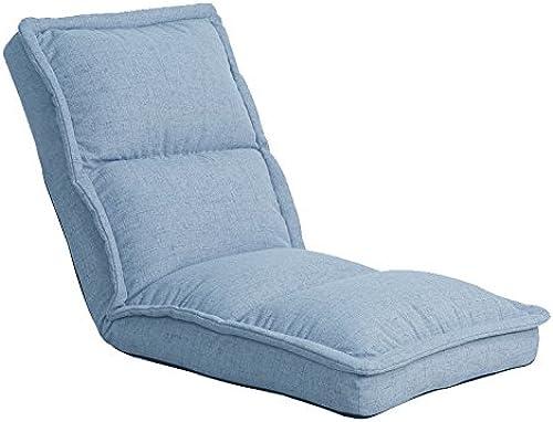 MDBLYJ Faltender fauler Couchlesebuch-Recliner Bay Fenstersessel, (Farbe   A, Größe   118CM)