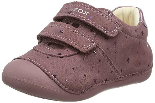 Geox B Tutim B First Walker Buty dla Dziewczynek, Różowy, 23 EU