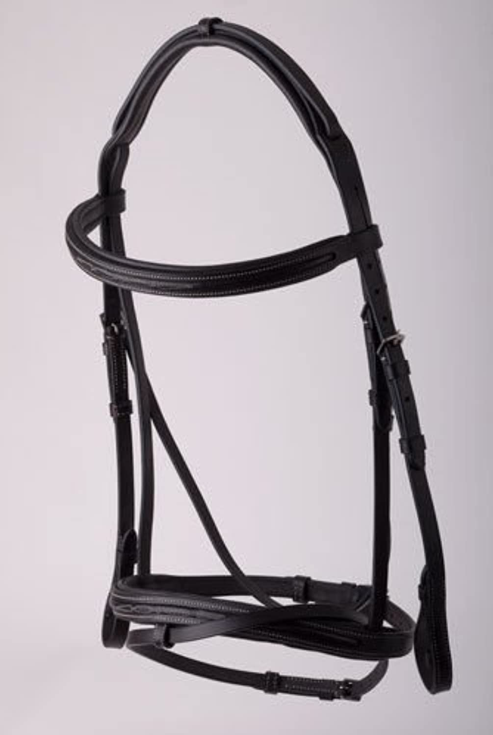 NEW Rhinegold Elegance Comfort Bridle Brown Pony