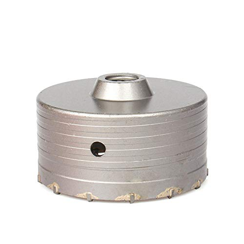 110-500mm SDS Plus Shank 30-160mm Concrete Hole Saw Electric Hollow Core Drill Bit Cement Stone for Air Conditioner Tube-120mm