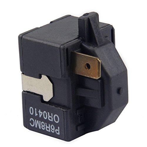 1 Pin PTC Starter Kompressor Relais P6R8MC Passend für LG Magic Chef Kühlschrank Luftentfeuchter