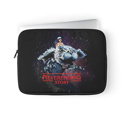 Never Story Neverending Stranger Things Ending Laptop Sleeve Case Cover Handbag for MacBook Pro/MacBook Air/Asus/Dell/Lenovo/Hp/Samsung/Sony.Etc