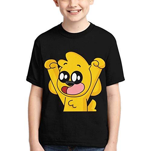 Camiseta Unisex para jóvenes Mi_k_ecra-CK Camisetas de Manga Corta para jóvenes Camiseta para niños para niños y niñas Adolescentes
