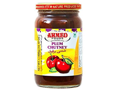 Ahmed Foods Pflaume Aloobukhara Chutney, 400 g