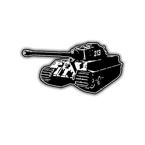 Sticker Autocollant – Panzer la Gleize 1944 roi Tiger WH 10 x 5 cm # spk-a1859