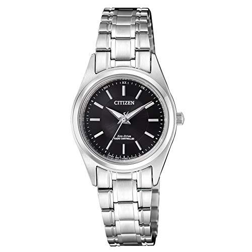 Citizen dames analoog zonne-horloge met roestvrij stalen armband ES4030-84E