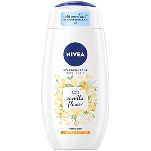 Nivea Duschgel - Soft Vanilla Flower - 6er Pack (6 x 250ml)
