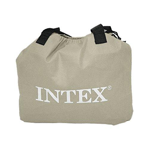 Intex 64136 - Colchón hinchable Dura-Beam Standard Deluxe Pillow 152 x 203 x 42 cm