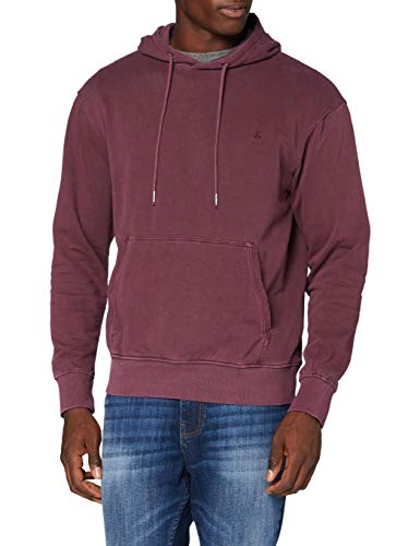 JACK & JONES Herren JJEWASHED Sweat Hood NOOS Kapuzenpullover, Port Royale, XL
