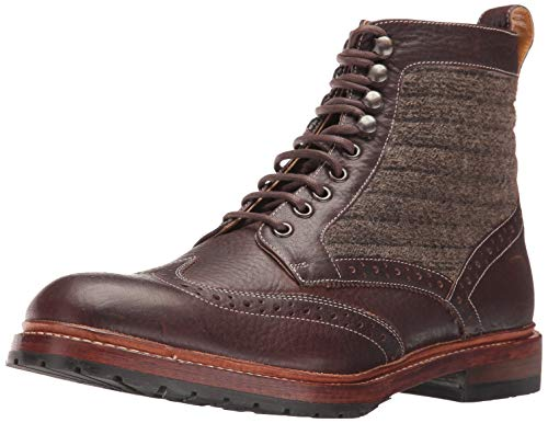 Stacy Adams Herren M2 Wingtip Lace up Boot Stiefelette, Braun/Mehrfarbig, 44 EU