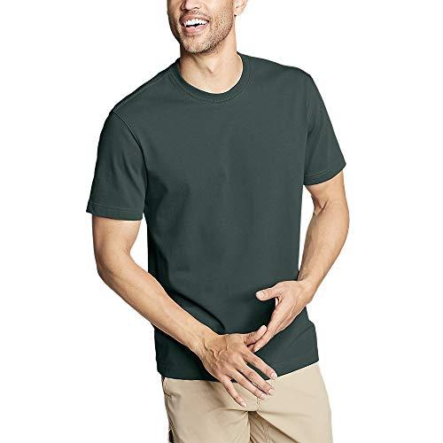 Eddie Bauer Men's Legend Wash Pro Short-Sleeve T-Shirt - Classic, Evergreen Regu