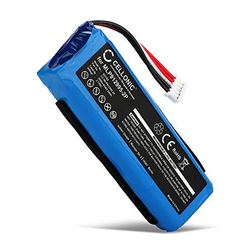CELLONIC® Batería de Repuesto MLP912995-2P GSP1029102 Compatible con JBL Charge 2+, Charge 2 Plus, Charge 2 +, 6000mAh MLP912995-2P GSP1029102 Accu Altavoz, Speaker Battery