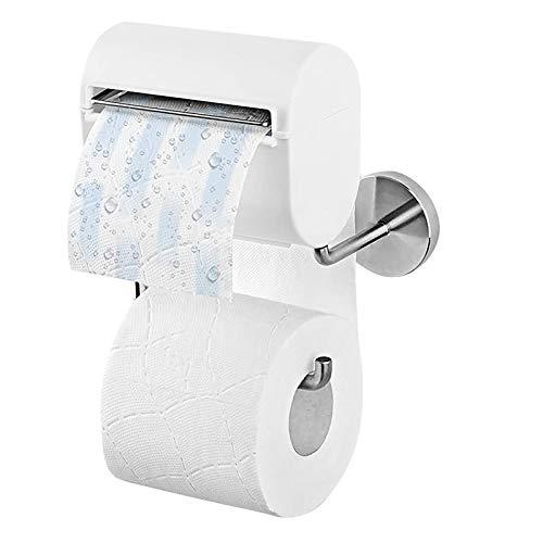 FANTCI Toilettenpapierhalterung inkl. Befeuchter, Grau/Weiß Papierspender | Ohne Farb-, Duft- und Konservierungsstoffe