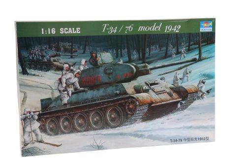 Trumpeter 00905 Modellbausatz T-34/76 Soviet Tank (1942)
