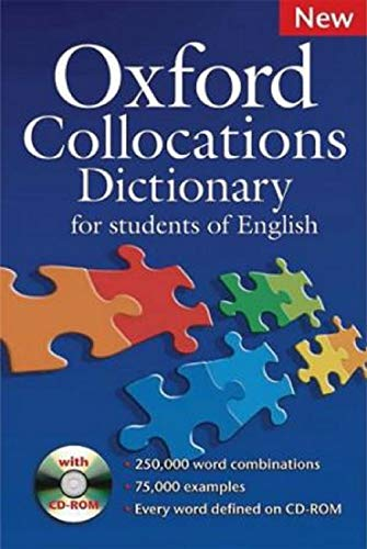 Oxford Collocations Dictionary For Students of English (English Edition)