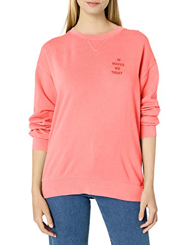 BILLABONG Damen Surf Vibe Hoodie Hemd, Rose, 40 DE Medium
