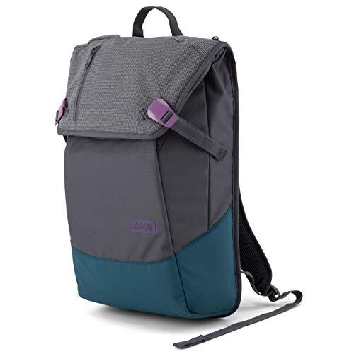 AEVOR Daypack Echo - erweiterbarer Rucksack, reflektierend, ergonomisch, Laptopfach, wasserabweisend, Purple