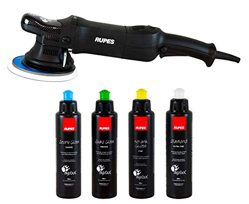 RUPES Bigfoot Exzenter Poliermaschine 15 mm Hub LHR 15ES Polituren
