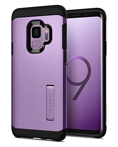 Spigen Tough Armor Hülle Kompatibel mit Samsung Galaxy S9 -Lilac Purple
