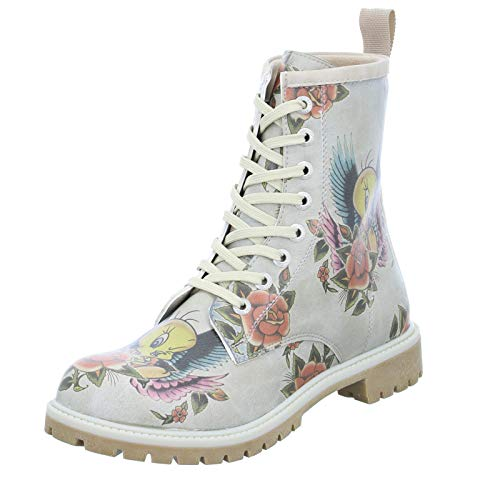 DOGO Boots - Tweety with Roses 39