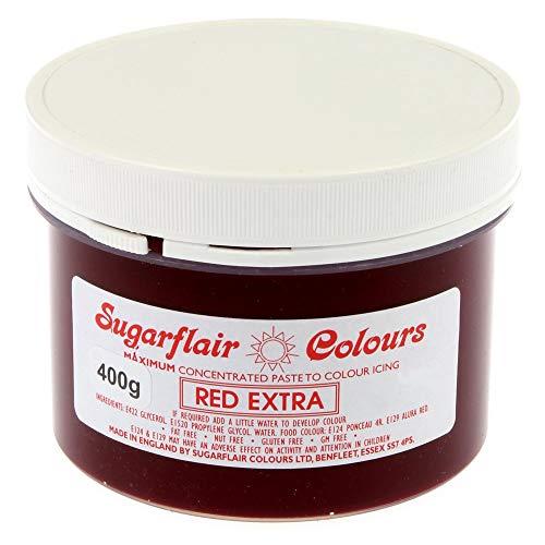 SUGARFLAIR 400g Dose Spektral Konzentrierte Lebensmittel Farbe Paste Perfect Für Alle Cupcakes Und Kuchen