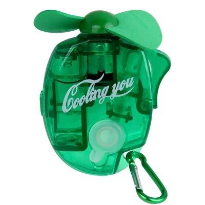 PANGTOU Ventilador de Mano Mini Fan Mini Ventilador de pulverización de Agua con aspas de Ventilador potentes y seguras, tamaño: Aproximadamente 109 x 73 x 27 mm