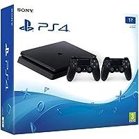 PlayStation 4 (PS4) - Consola de 1 TB + 2 Dual Shock 4 Wireless Controller