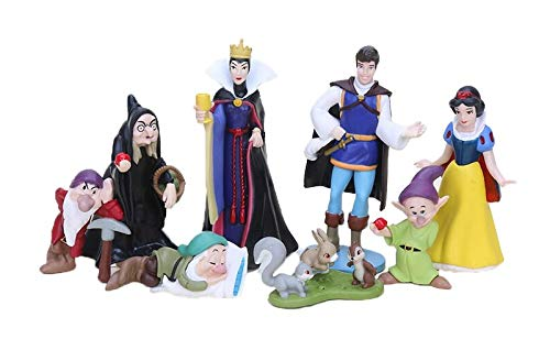 League Of Loveliness PVC Set Personaggi Biancaneve 8 pcz