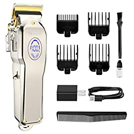MOREASE Hair Clippers for Men Professional Cordless Hair Clippers Hair Cutting Grooming Kit Rechargeable Barber Clippers Trimmer for Home Barber Salon  - 41zZ43DbYQL - MOREASE Hair Clippers for Men Professional Cordless Hair Clippers Hair Cutting Grooming Kit Rechargeable Barber Clippers Trimmer for Home Barber Salon
