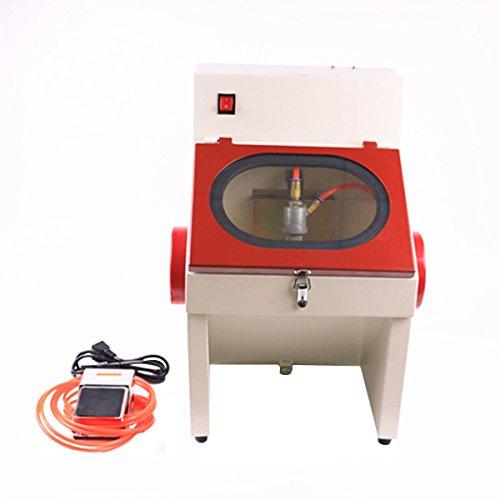 TJIRIS Press-in Type Power Sand Blasting Machine Lab Equipment