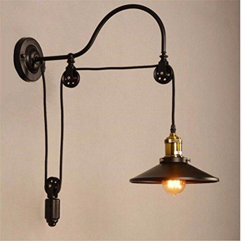 JJZHG wandlamp wandlamp waterdichte wandverlichting hefgereedschap wandlamp retro eetkamer woonkamer lamp creatieve café, zonder spiegel bevat: wandlamp, stoere wandlampen