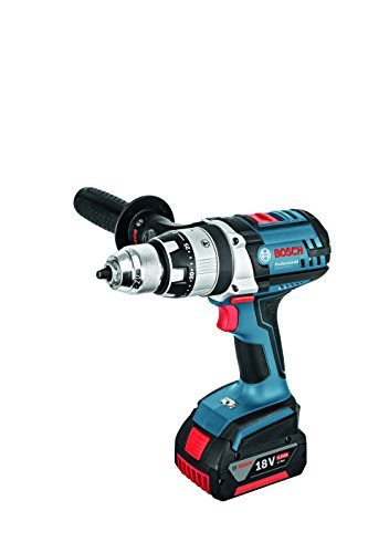 Bosch Professional Perceuse à percussion Sans-Fil GSB 18 VE-2-LI (18 V, L-BOXX)