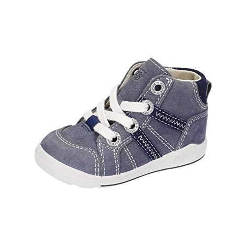 RICOSTA Jungen Lauflern Schuhe Danny von Pepino, Weite: Mittel (WMS),terracare, Jungen Kinderschuhe toben Spielen verspielt,See,26 EU / 8 Child UK