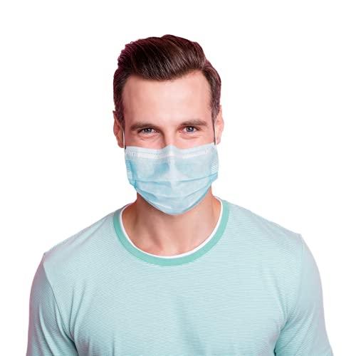 100 Stück Einmal Mundschutz + 10 Stück GRATIS – Einweg Mundbedeckung aus Vlies (Versand aus Deutschland) (100 Stück + 10 Gratis)
