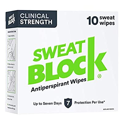 SweatBlock Clinical Strength Antiperspirant